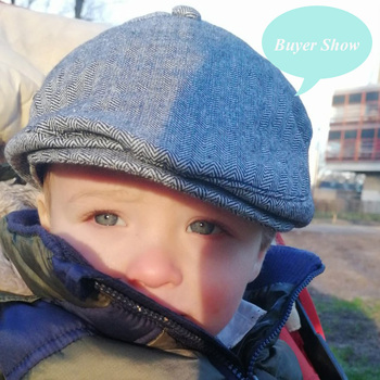 Fashion Comfortable Cotton Boy's Cap 4