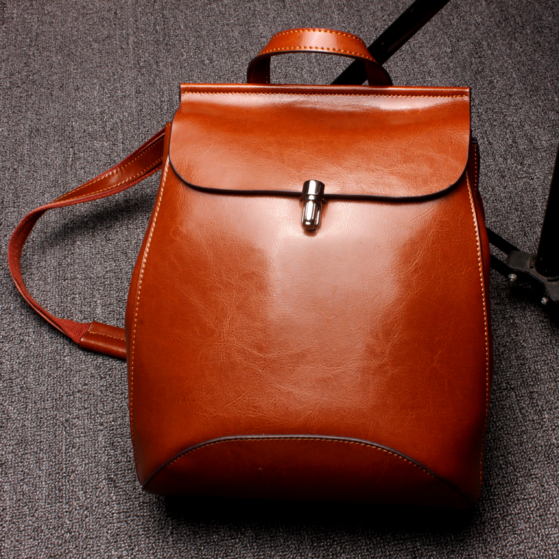 Melodycollection Women Leather Casual Backpack Shoulder Top-handle Travel Small Backpack School Glirs Daily Vintage Shells Bag электрокашеварка small shells bb 1l