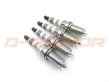 4PCS LFR6AIX 11 6619 Iridium IX Spark Plug For BMW Subaru Volvo Yamaha Toyota