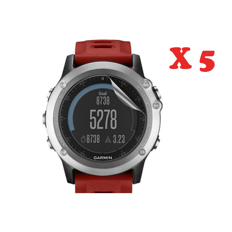 Ultra Clear HD Soft Protective Film Guard For Garmin Fenix 3/Fenix3 HR Display Protection Full Screen Protector Cover(Not Glass)