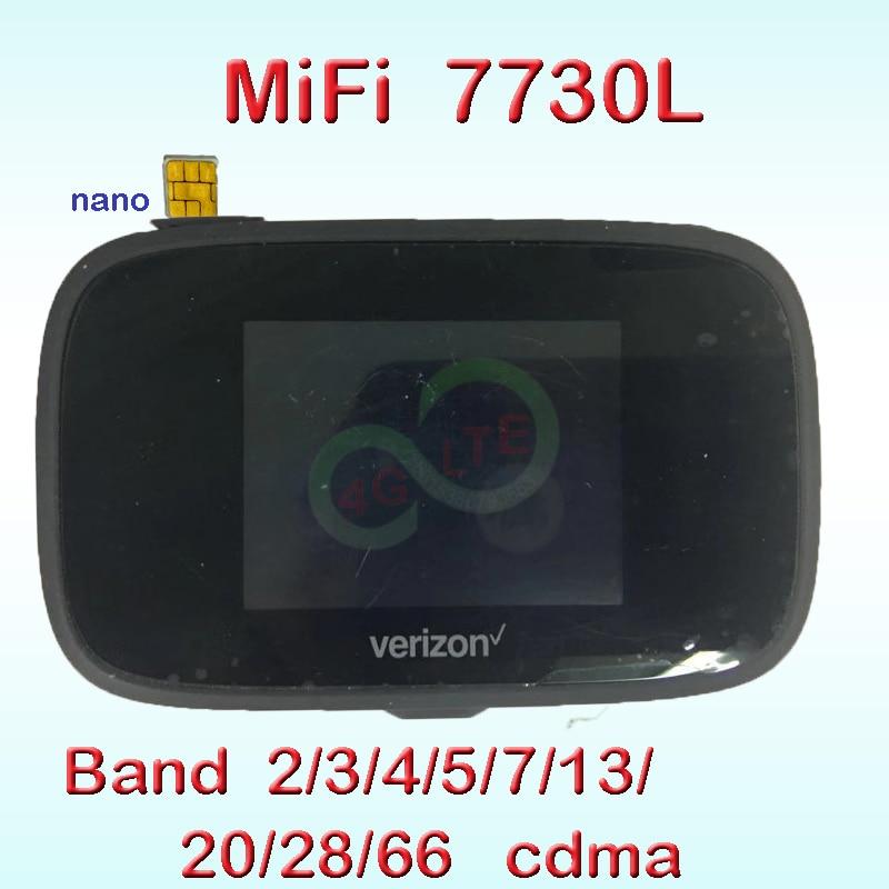 Jetpack Wifi mini 3G 4G Lte sans fil poche Portable Wi-fi avec fente pour carte Sim MIFI 7730l