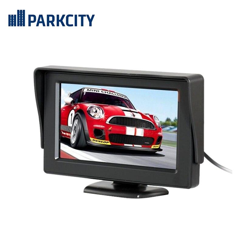 """Парковочный монитор Parkcity PC-3003 экран 4.3"""""""