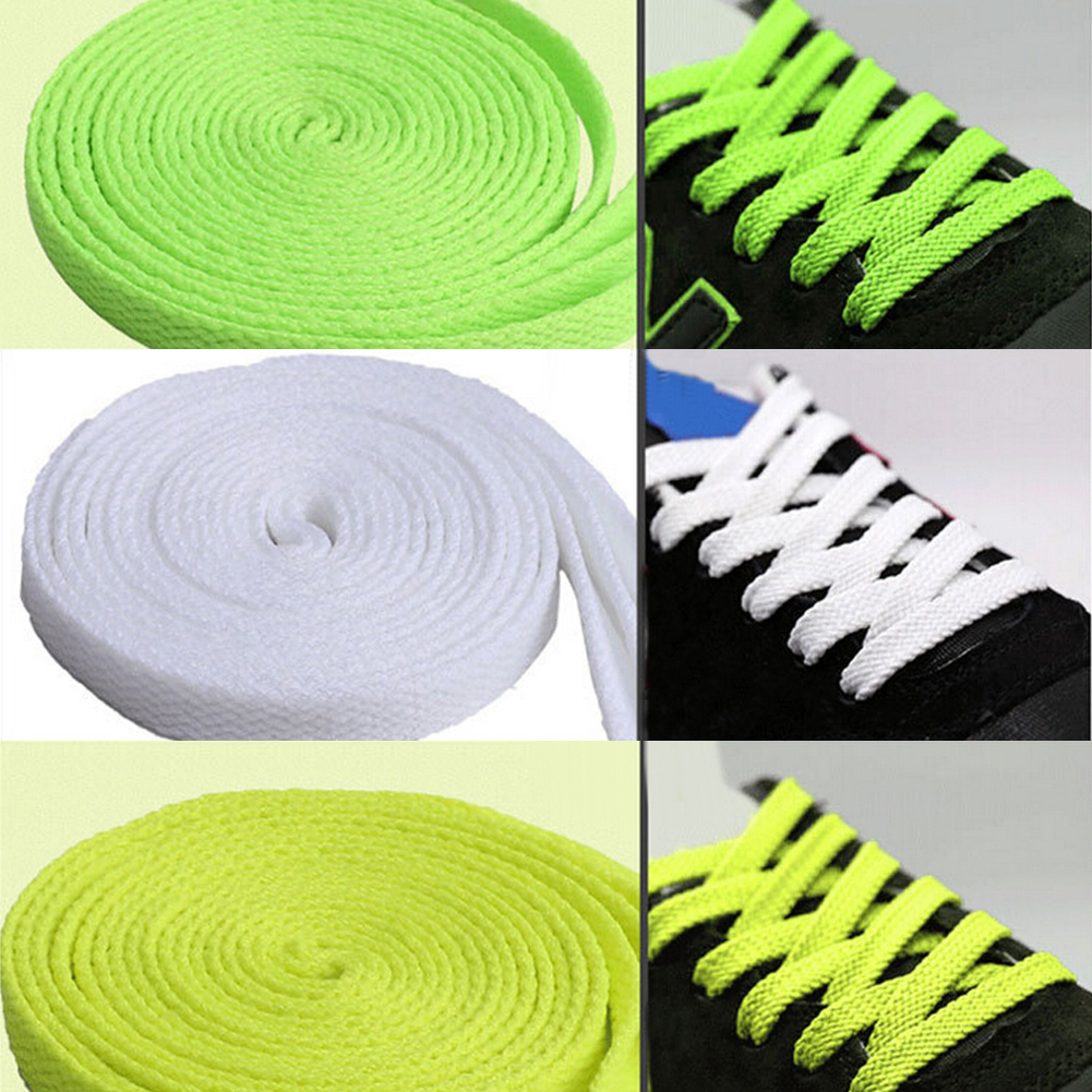 Women Men Kids Flat Sneaker Shoelaces Shoes Laces