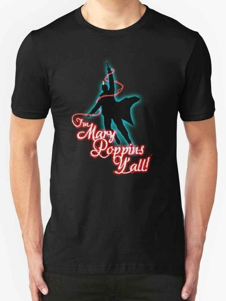Yondu-私はメアリーポピンズ Y 'All の! メンズブラック tシャツサイズ S-2XL