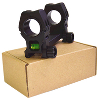 Airsoft M10 Rifle Scope Mount 25.4 30MM Rings with Bubble Level Range Mounting Hunting Accessories HT2 0033