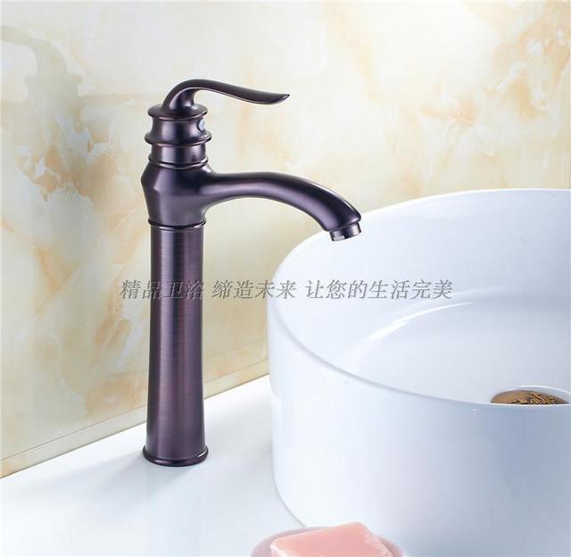 Vintage Style antique robinet noir hauteur robinets de salle de bain fini laiton lavabo robinets bassin.jpg 640x640 Résultat Supérieur 16 Merveilleux Robinet Noir Galerie 2018 Jdt4