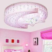 Yıldız ay tavan ışık erkek yatak odası kristal lamba kız karikatür Prenses boy Tavan Işıkları LU628 ZL423
