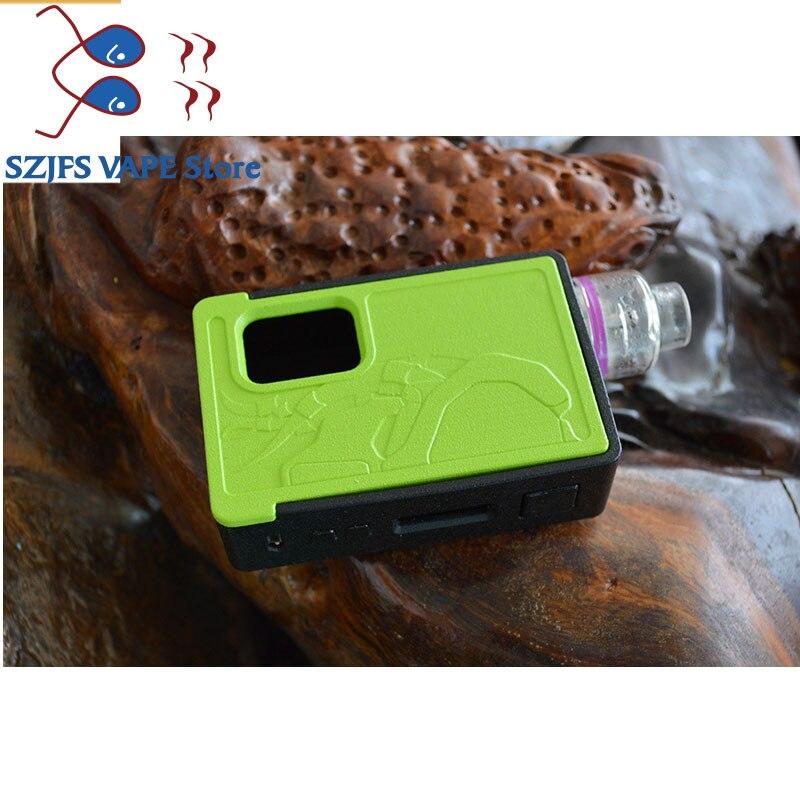 E-cigarette Vape Box Mod Power Predator 80w Squonk Mod By Dual Battery  18650 & 20700 Compatible With Atomzier 510 Pin vs Avid Ly