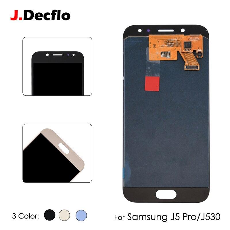 D'origine TFT OLED AMOLED Écran lcd Pour Samsung Galaxy J5 Pro J530 J530F SM-J530F SM-J530FM Écran Tactile Digitizer Assemblée