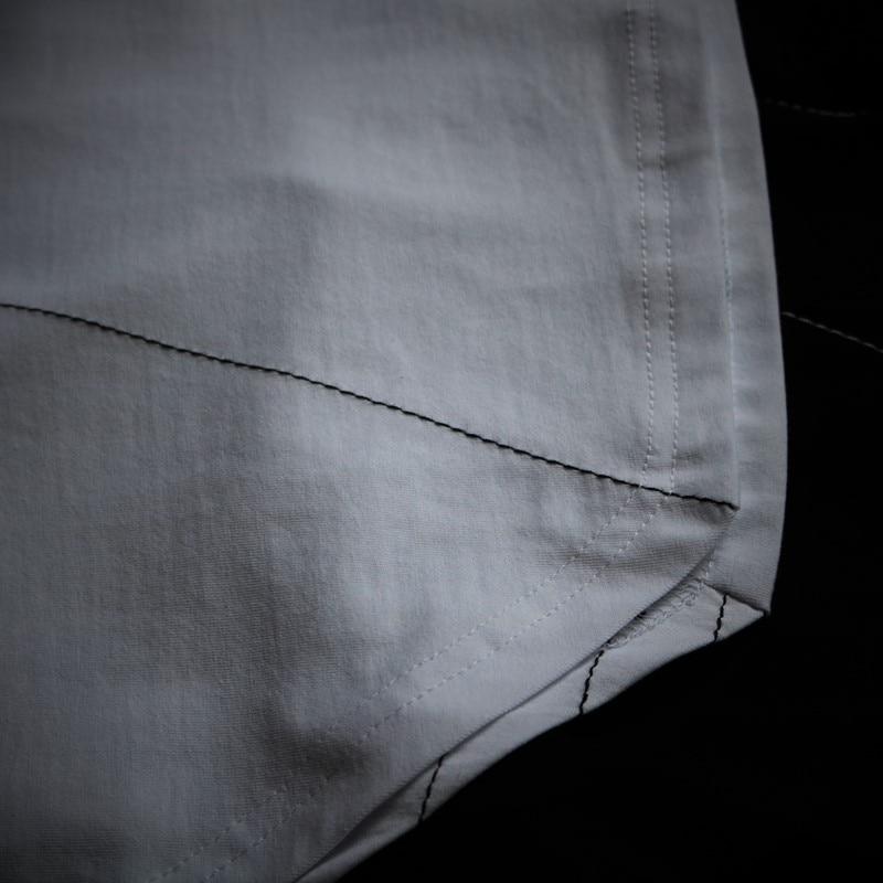 2018 Undertale 여름 불규칙한 얇은 라인 느슨한 라운드 - 남성 의류 - 사진 6