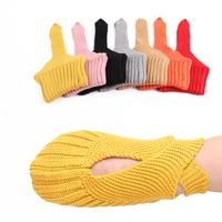 Children Girls Socks Autumn Candy Color Kids Boys Socks Spring Fashion Cotton Knit Toddlers Bandage Dancing