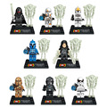 Hot 8pcs/set Star Wars Action Figures Model Building Kits Blocks Bricks Compatible toys Brinquedos Best Gift For Childen's Day