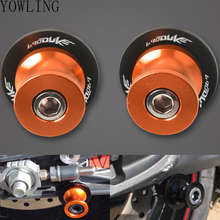 M10 swing arm Sliders Motorcycle Accessories CNC Swingarm Spools stand screws Slider For KTM Duke 690 Duke R 2014 2015 2016 2017