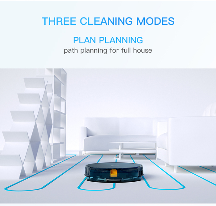 NEATSVOR X500 1800PA Robot Vacuum Cleaner for Wet or Dry Mopping with Map Navigation and Anti Collision Feature 21
