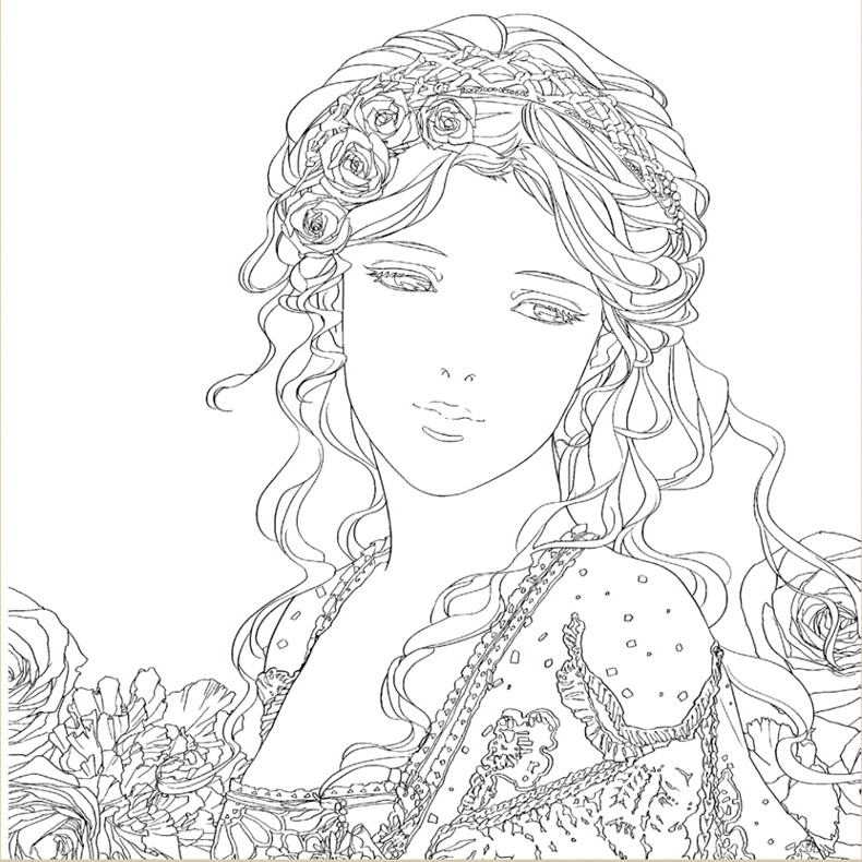 Beauty And The Beast Coloring Books For Adults Children Relieve