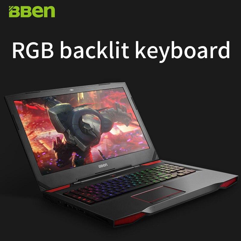 BBEN G17 Game Computer 17 3 Inch Windows10 Intel I7 7700HQ 8 RAM 128G SSD 1TB BBEN G17 Game Computer 17.3 Inch Windows10 Intel I7 7700HQ 8 RAM 128G SSD 1TB HDD Nvidia GDDR5 6G RAM FHD Backlit Keyboard