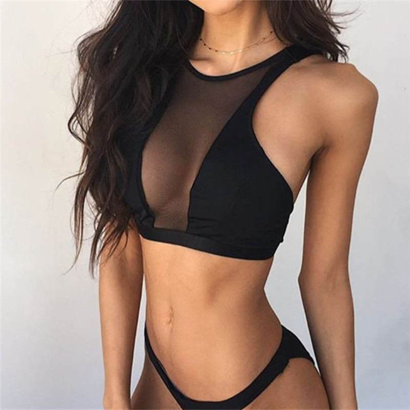 Black Mesh Yoga Shirt Sport Top Fitness Brassiere Workout Sportswear Active Wear Women Fitness Tank Top Gym Clothes active mesh tracksuit in black