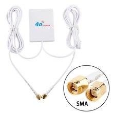 TS9 CRC9 SMA موصل 4g LTE بانيل هوائي مزدوج المنزلق موصل لهواوي 3G 4G LTE راوتر مودم الجوي