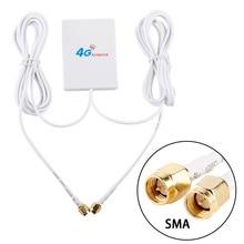 TS9 CRC9 SMA konnektörü 4g LTE panel anten çift kaymak konektörü HuaweI 3G 4G LTE yönlendirici modem anten