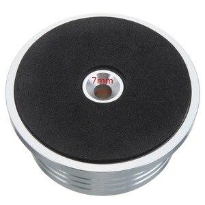 Image 3 - LEORY 1Pcs 3in1 מתכת שיא קלאמפ LP דיסק מייצב פטיפון ויניל שיא פטיפון רטט מאוזן שחור זהב כסף