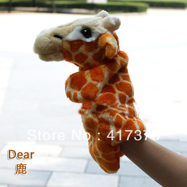 free shipping Infant toys Large dearl puppet paren...