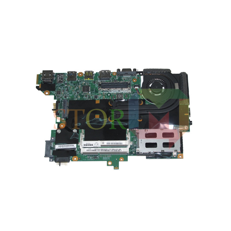 NOKOTION for lenovo thinkpad T420s laptop motherboard 63Y1718 63Y1914 i5-2520M 48.4KF58.041 QM67 GMA HD3000 DDR3 fru 63y1896 for lenovo thinkpad w510 laptop motherboard qm67 ddr3 nvidia quadro fx 880m 15 6 inch