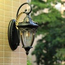 Balcony waterproof wall lamp outdoor European style villa garden garden American terrace wall door LED outdoor wall lamp