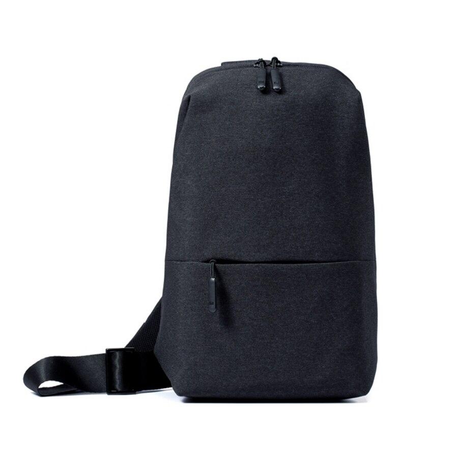 Оригинальный Xiaomi 4L Ёмкость груди пакет рюкзак плеча Тип унисекс полиэстер Материал Smooth Draw шнур молнии Дизайн