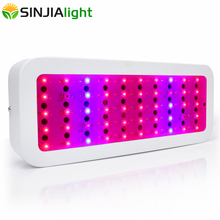 300W Full Spectrum LED Grow Light 50LEDs Plant Growth Lamp 38red+8blue+2IR+2UV Hydroponics Lighting for Flowers Indoor Plants