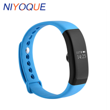 Niyoque V66 Bluetooth 4.0 SmartBand IP68 Водонепроницаемый сна монитор сердечного ритма Спорт Шагомер Смарт браслеты для андроид iOS