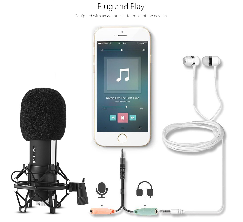 Yanmai Q8 Condenser Microphone 10