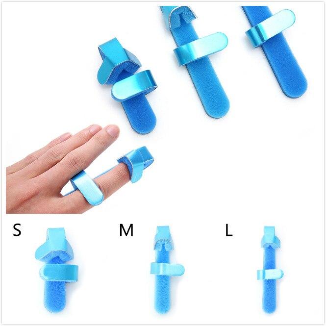 3 sizes Adjustable Medical Alloy Splint Finger Plywood Joint Fitted Rehabilitation Equipment Finger Orthosis Hand Orthopedic 1