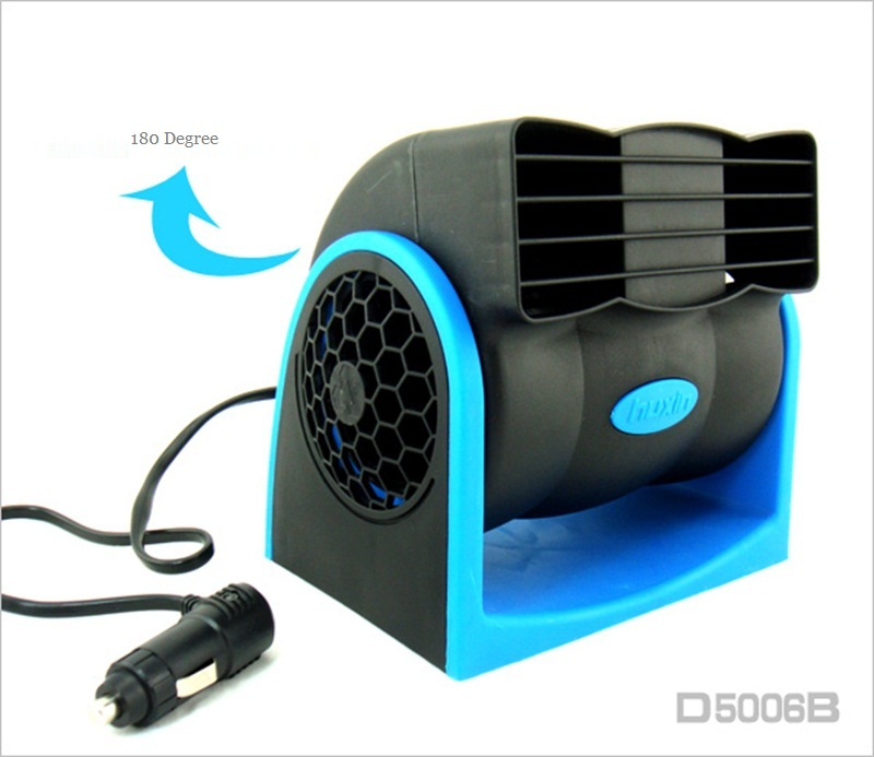 Car Air Conditioners Fans : Car vehicle truck cooling fan v adjustable silent