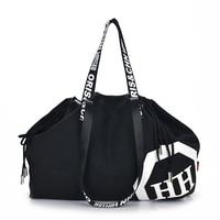 01dcc463cfa03 Women Casual Large Capacity Canvas Travel Bag Duffel Bag For Twenties Girls  Gear Totes Handbags Sport