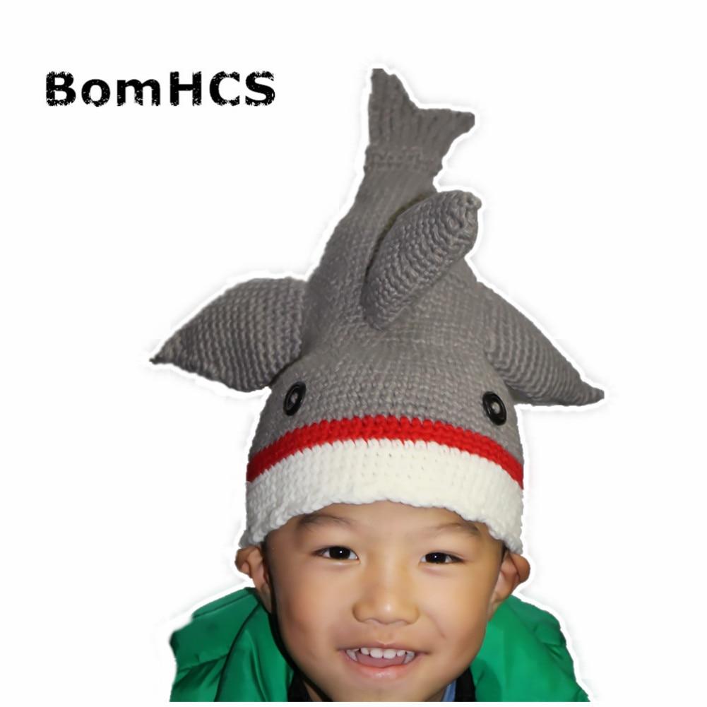 Aliexpress.com: Comprar BomHCS Novetly Shark Hat 100% gorro de punto ...
