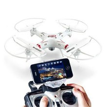 HQ898B Eixos Gryo Wifi FPV Real-time Headless Modo de Vídeo mini Drone RC Quadcopter com Câmera HD zangão RTF 2.4 GHz VS H11D