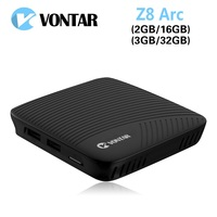 VONTAR Z8 Arc 3GB 32GB DDR4 TV BOX Android 7 1 Smart TV Box VP9 4K