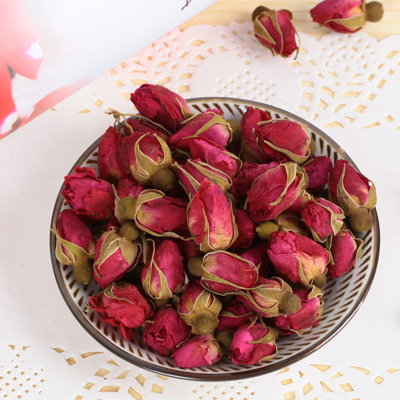 NEW Natural 1bag(250g) Dried Rose Flower Rose bud Rose Girl Women gift ...
