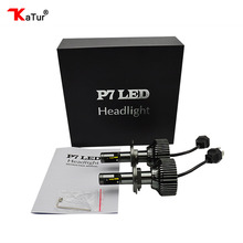 1 Pair H4 H13 H15 9004 9007 LED Headlight Bulbs Conversion Kit All-in-one 30W 4200LM 6000K White Dual Beam Head Lamps For Cars