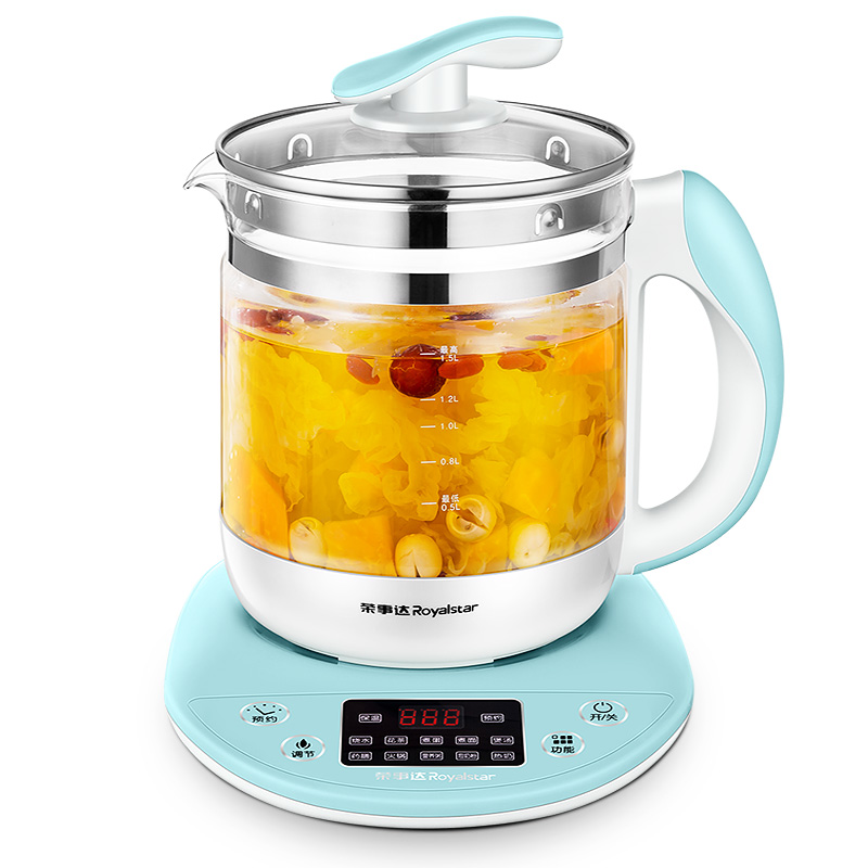 Kettle Health Pot Automatic Thicker Glass Multifunctional Electric Kettle Flower Teapot Black Tea Tea Pot health pot mini automatic thickening glass multi purpose tea kettle flower tea pot boiling pot electric kettle