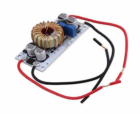 1pcs DC DC Boost Converter Constant Module Current Mobile Power Supply 250W 10A LED Driver Module Non-isolated Step Up Module 1pcs 1500w 30a dc dc cc cv boost converter step up power supply charger adjustable dc dc booster adapter 10 60v to 12 90v module