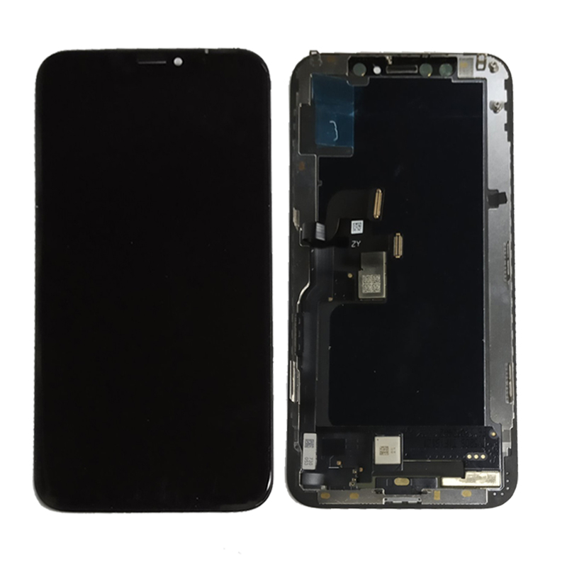 Black OLED For iPhone X XS LCD Screen Display with Glass Touch Screen Assembly Replacement Parts Free Shipping