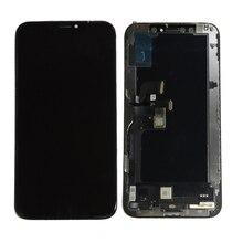 Черный OLED для iPhone X XS ЖК дисплей экран дисплей с стекло сенсорный экран сборки запчасти авто бесплатная доставка