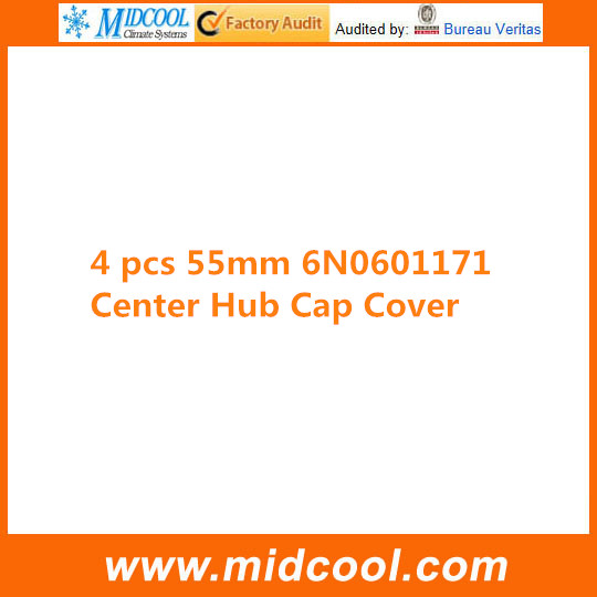 FREE SHIPPING 4 PCS WHEEL CENTRE CAP FOR 6N0601171 6N0 601 171 55MM