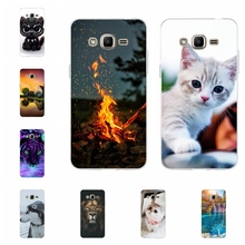 For Samsung Galaxy J2 Prime Case Soft TPU G532F G532 Cover Sky Pattern Funda