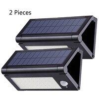 Solar Power Lights 50LEDs Foldable Lamp Pir Motion Sensor Outdoor Solar Floodlight Panel Street Light Garden