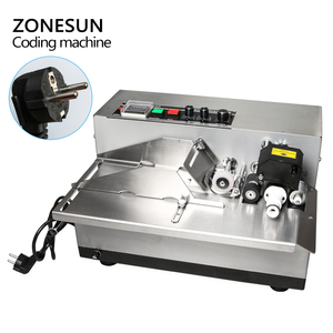 Image 3 - ZONESUN MY 380 coding machine Semi Automatic Solid Ink Date Coding Machine, automatically continuous date coding machine