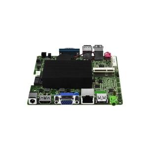 Image 4 - QOTOM Bay Trail j1900 mini itx placa base Q1900G P, Quad core 2,42 Ghz, DC 12V nano itx placa base