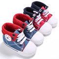 Baby First Walkers Baby Shoes Fashion Cowboy Canvas Shoes Soft Bottom Non-slip Toddler Shoes for Babies