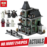 New LEPIN 16007 2141Pcs Monster Fighter The Haunted House Model Set Educational Building Kits Model Compatible